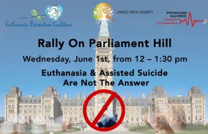 Rally on Parliament hill